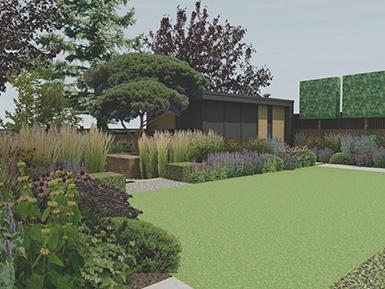 Withdean Brighton contemporary family garden design